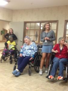 interact elderly