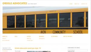 OA website screenshot